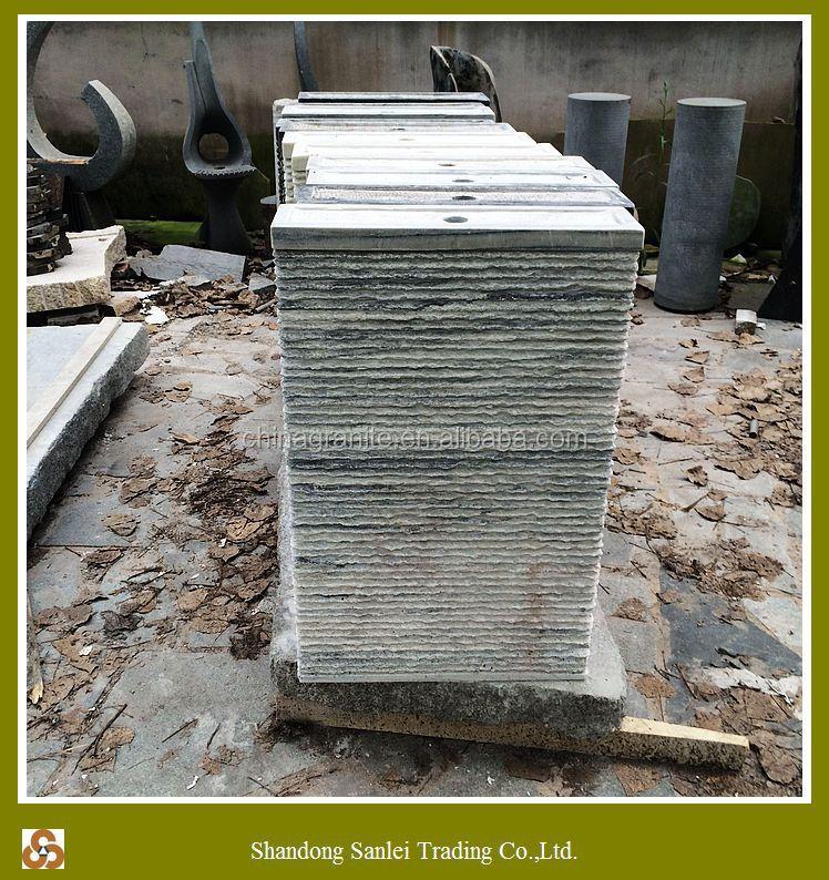 Vendita calda grigio marmo bianco pietra del giardino cascata ...