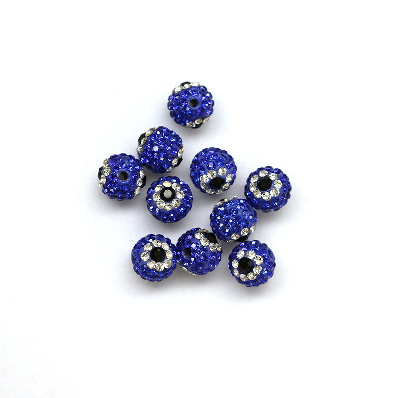 Wholesale Custom Crystal Rhinestone Shamballa Bead For Making Jewelry