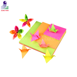 Manufacturer directly sell A4 fluorescent neon color sticker paper