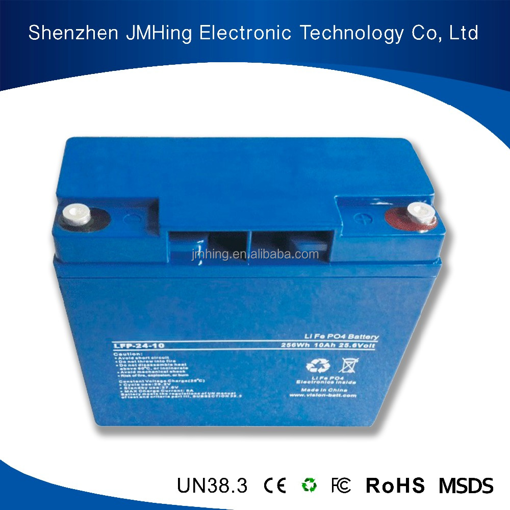 Customised Size Lithium Type Battery LiFePO4 24V 50Ah