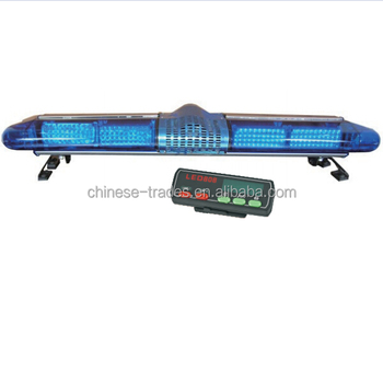 Police car low profile high quality led siren warning light bar police car low profile high quality led siren warning light bar aloadofball Choice Image