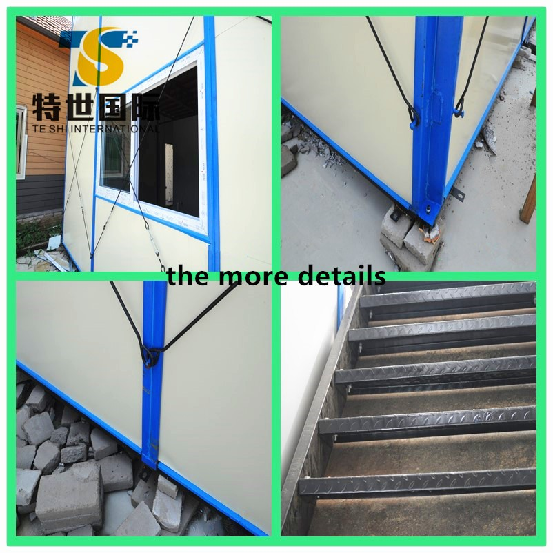 2016 Beautiful Steel No Foundation Prefabricated Container