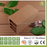 New generation wpc wood plastic composite garden fence panels / railing