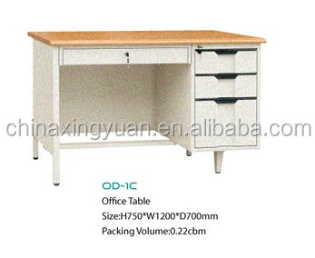 Superbe Simple Steel Office Table Designs /office Counter Table Models / Office Computer  Table Designs