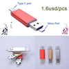 Multi function USB 2.0 + Micro USB OTG Adapter SD / T-Flash Card Reader for Smart Phone PC