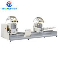 Cutting Aluminum Frame And PVC Machine CNC Precision Mitre double head miter saw