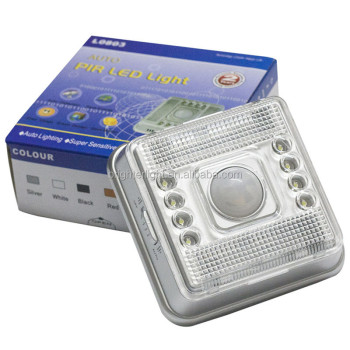 Auto PIR Infrared led light Motion Sensor night light