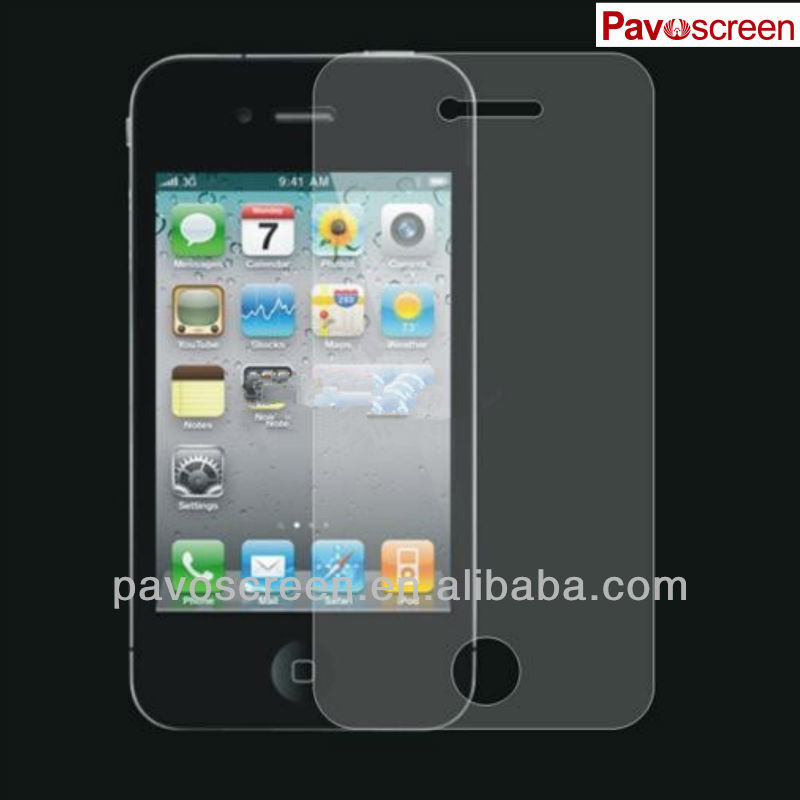 Pavoscreen - Super Strong protection magic tempered glass shield for iphone 4.5