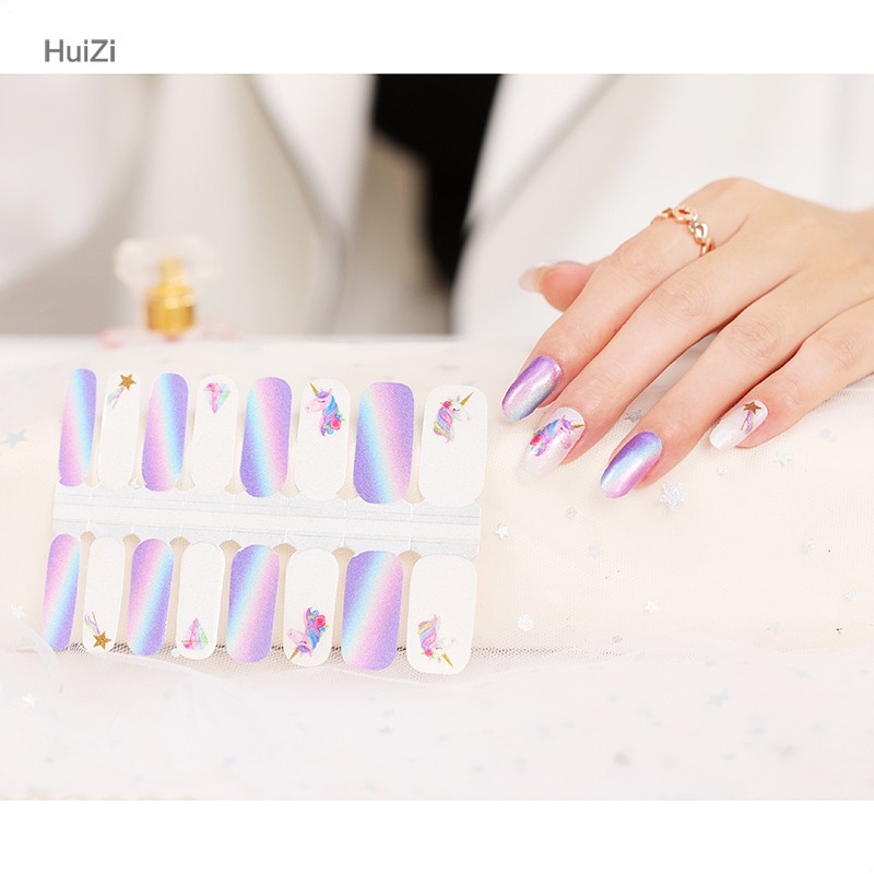 printing solution for temporary water transfer nail art sticker