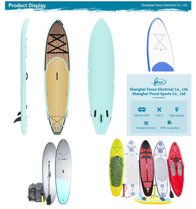 Factory supplied directly with anti-slip tape and surfboard grip handle sup stand up paddle board sup