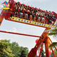 Outdoor amusement park rides adults big game extreme games top spin rides