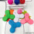 9 LED light Bluetooth Speaker Hand Spinners toys with wireless music sound stereo