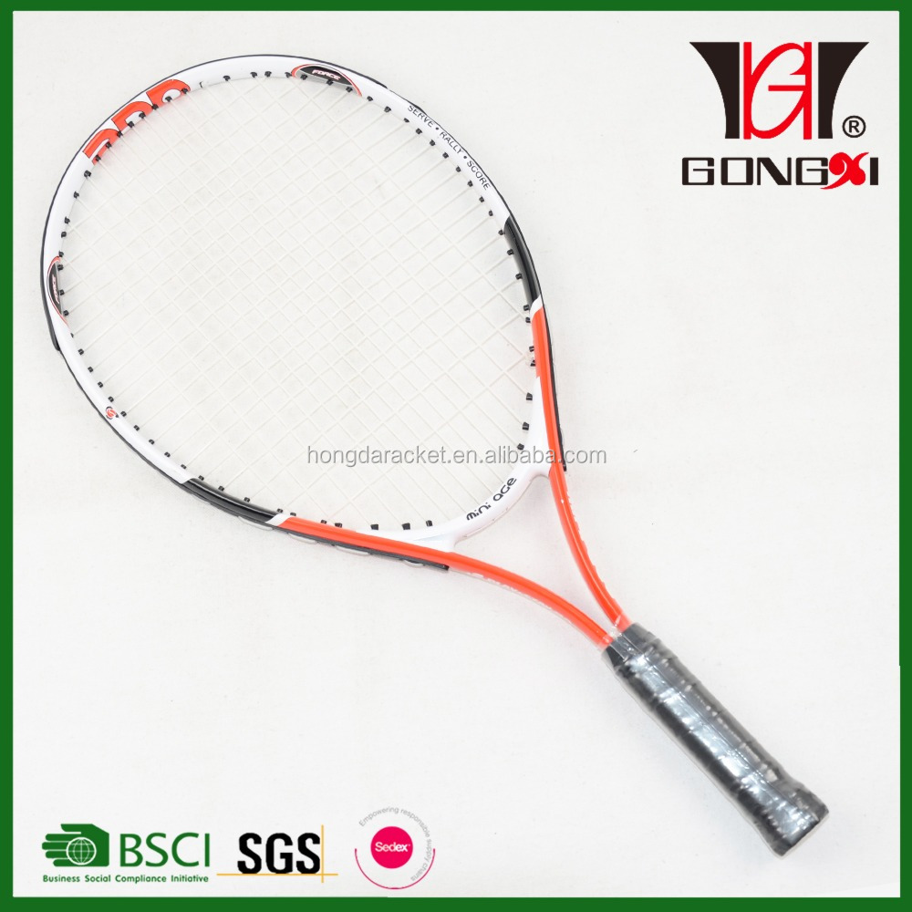 MiNi age 23 new design aluminium alloy tennis racquet with custom tennis racket grips/sports games outdoor
