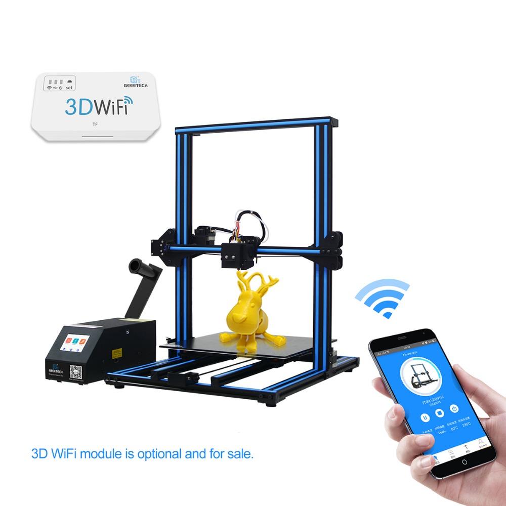 Geeetech Impresora 3D A30 3D-Drucker mit Touchscreen Stromausfall wiederaufnehmen