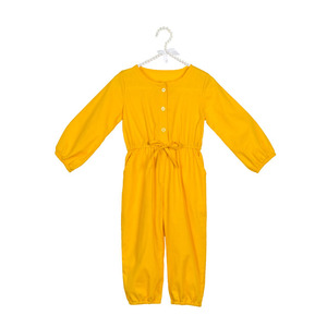 Newborn Infant Baby Girls Loose Long Sleeve Jumpsuits, Kids Cotton Play suit, Children Kids rompers
