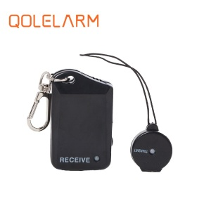 new arrival vibrating and auto-saving electricity bracelet key chain anti-lost alarm key finder