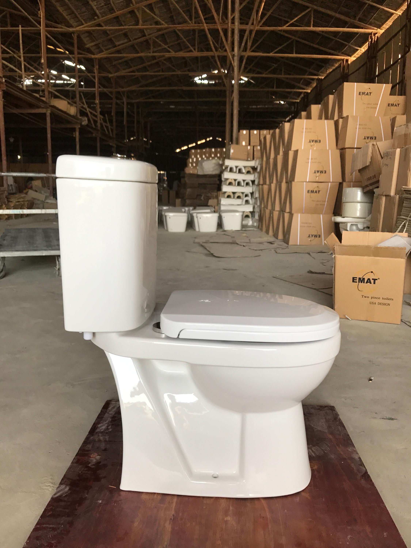 Promotion Bahrain Famous Wc Model Design Modern Two Piece Toilet