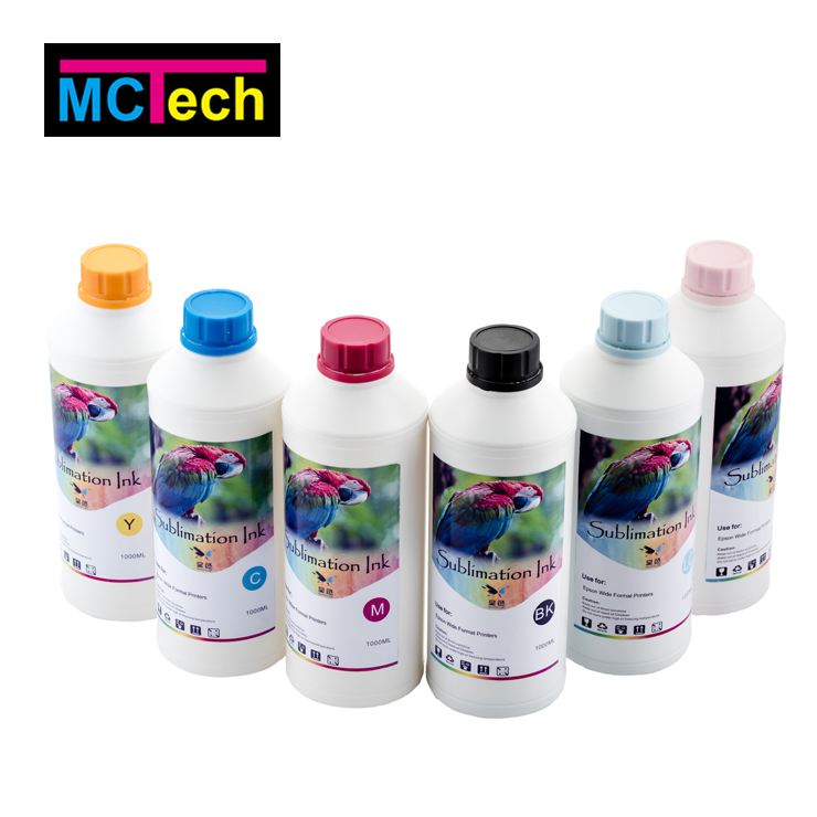 For Polyester/textile/cotton fabric Used Dispersed Dye Sublimation Ink