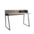 2019 new design of study table wooden home office computer table laptop desk industrial work table with metal leg