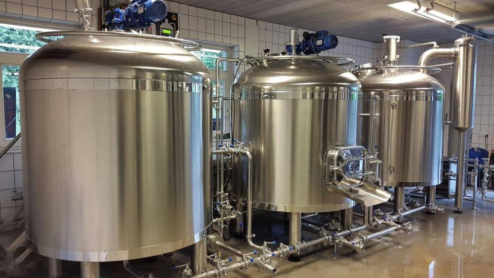 CE approved 5HL beer brewing equipment for IPA,ALE,LARGE