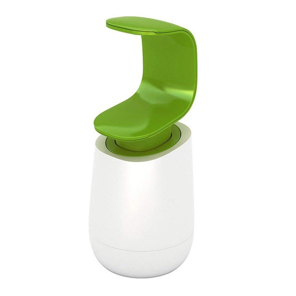 Layboo Soap Bottle C-Pump Hygienic Single-handed Soap Dispenser Pump-Bottles for Kitchen, Bathroom Counter top and Vanities 250 ml(8 oz)