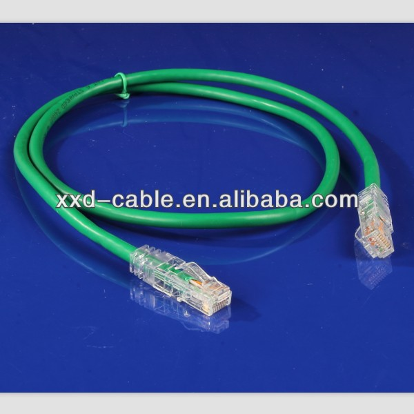8P8C RJ45 Module Plug Indoor Cable Cat6 UTP Patch Cord