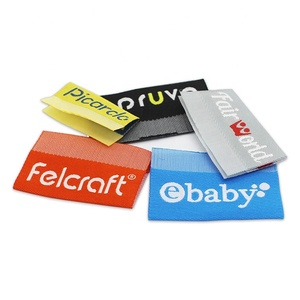 center fold brand clothing custom woven clothing labels