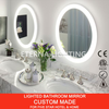 Hotel Backlit Smart Makeup Bathroom Mirror LED Light