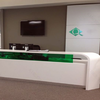 Merveilleux New Hot Reception Counter/office Front Reception Table Counter Design For  Sale With Customized Style