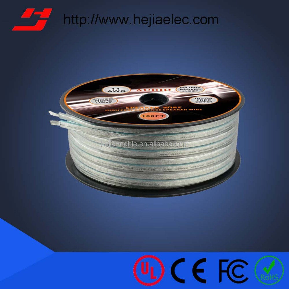 High End Colored Speaker Cable/Speaker Wire