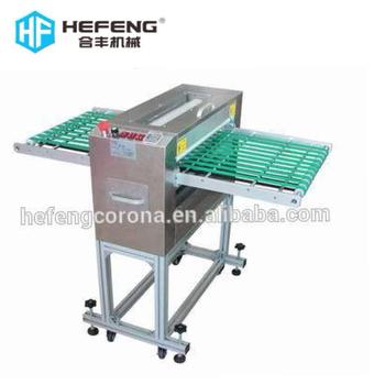 customized electrostatic dust cleaner with conveyor belt