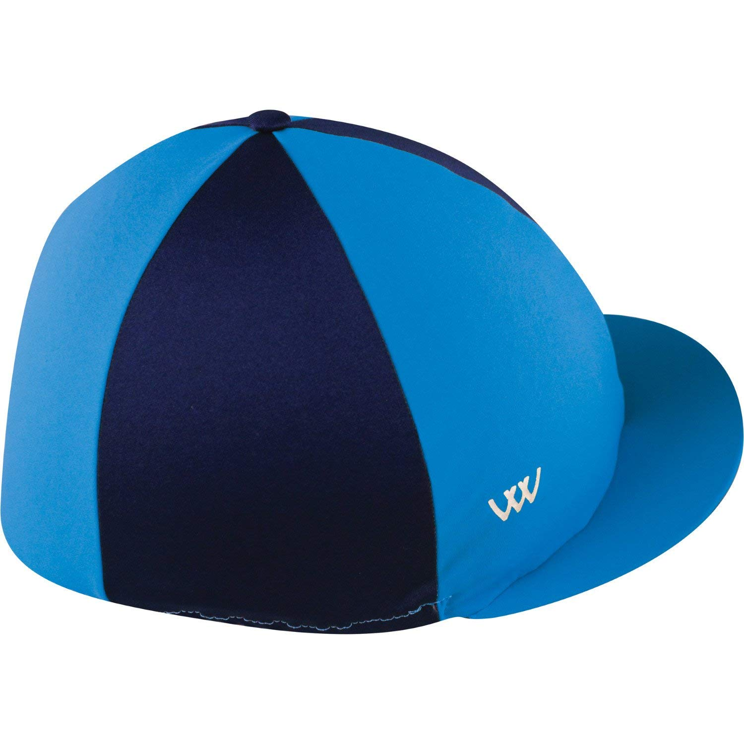 Get Quotations · WOOF WEAR Lycra Hat Cover One Size Turquoise Navy 1bfc1e8effca