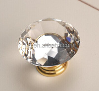Gold Crystal Knobs Handle