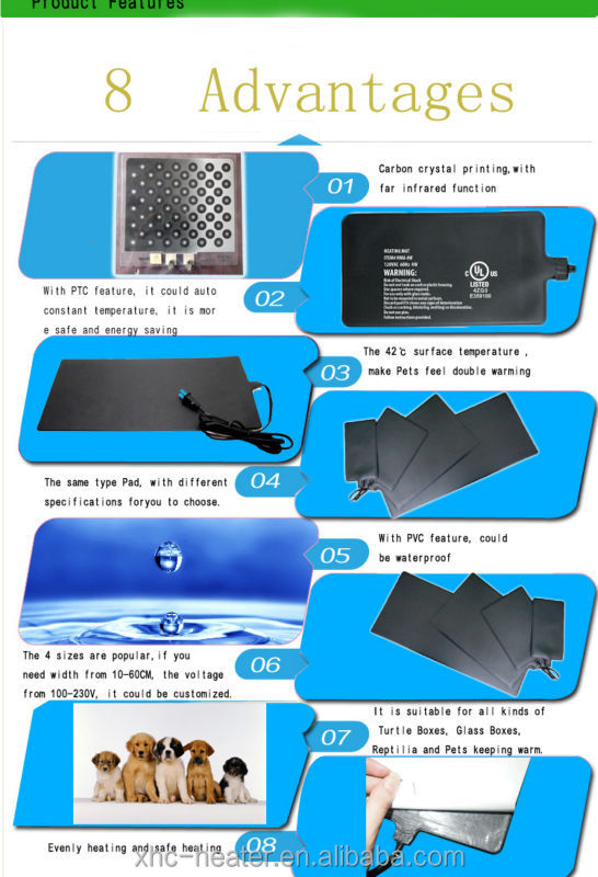 China Electric Temperature Controlled Heating Pad