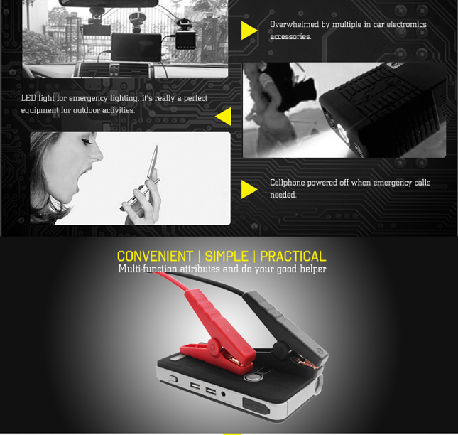 Special promotion multifunction CE/FCC/RoHS/UL2743 certification 12V 9600mAh emergency booster battery car jump starter