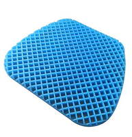All Gel Orthopedic Seat Cushion Pad for Car, Office Chair, Wheelchair, or Home. Pressure Sore Relief. Ultimate Gel Comfort,