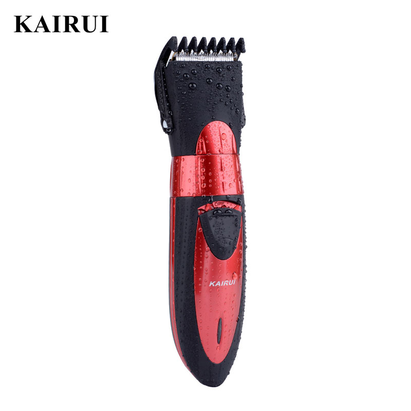 Wireless Rechargeable Electric Washable Hair Trimmer for Children and Adults Waterproof Hair Trimmer Clipper Cutting Machine