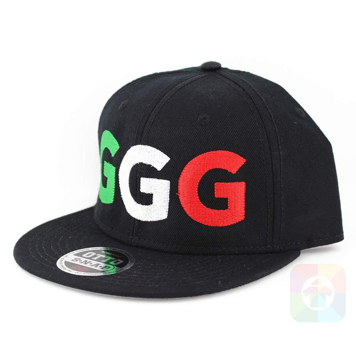 524fee87e44 Get Quotations · GGG Flat Bill Boxing Cap Six Panel Pro Style Snapback  OttoCap #2226