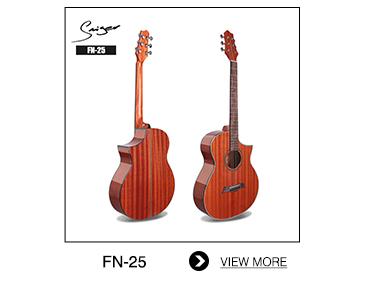 Bon prix guitare deviser populaire, guitare en bois sapele, meilleur bois pour guitare