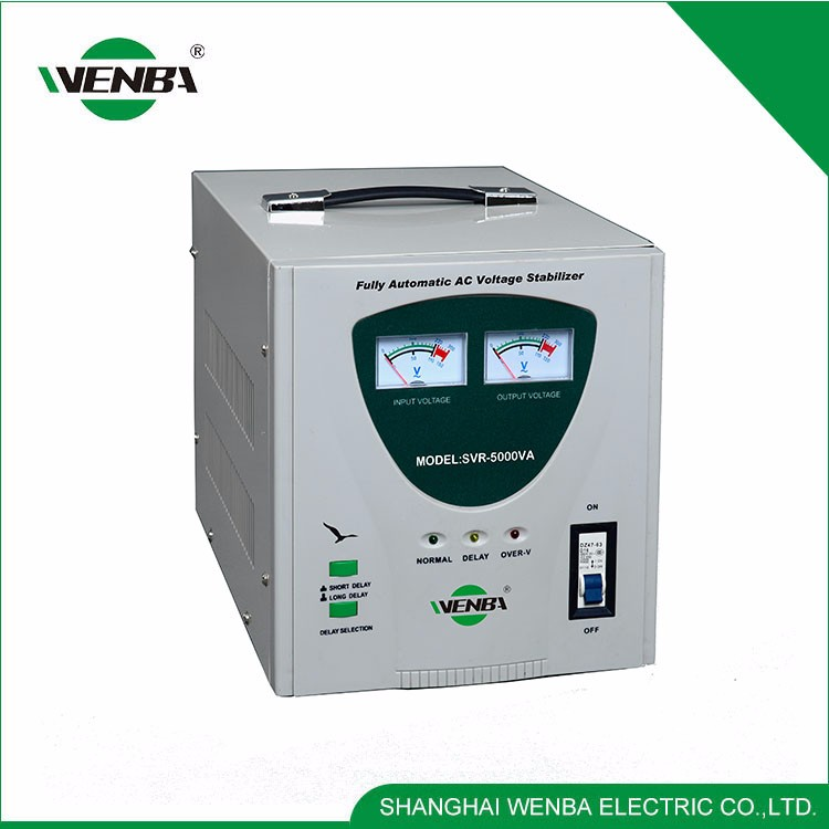 SVC Widely Use Quality-Assured 5000Va Servo Voltage Stabilizer