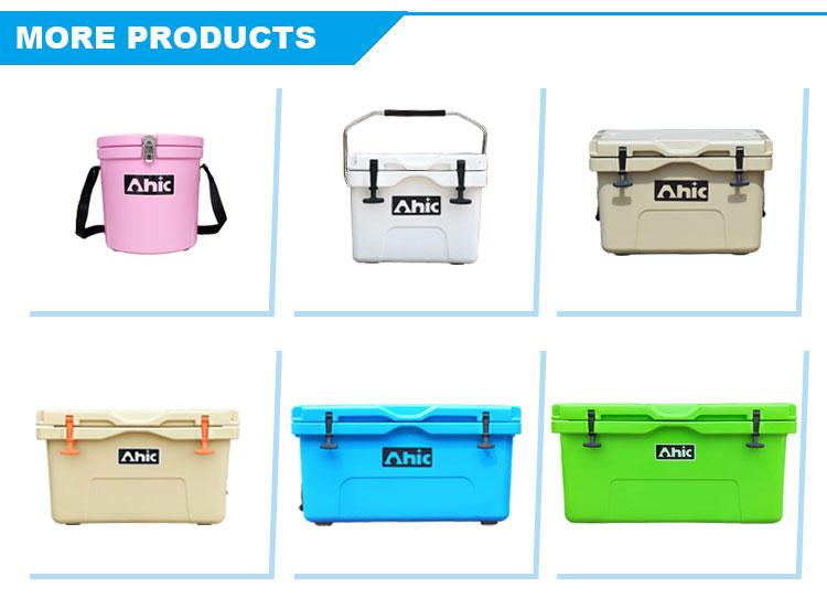 AHIC food grade ice box geïsoleerde 35L rotatiegegoten auto koelbox voor camping