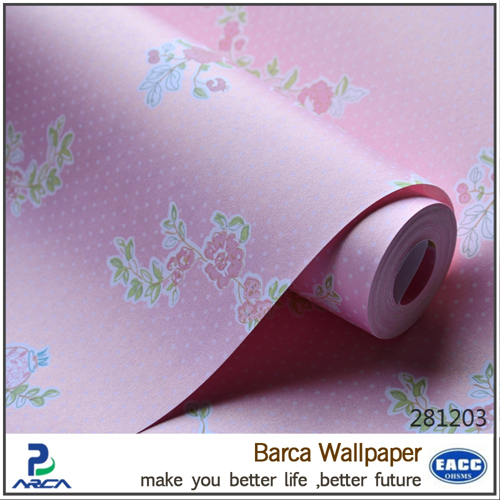 romatic pink wallpaper for baby room wholesale buy pink