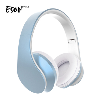 Eson Style Bluetooth Headphone, Build in Micro Bluetooth Stereo Wireless Headphone, Build In Microphone Bluetooth Speaker
