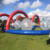Inflatable zorb ball track, sport game inflatable path