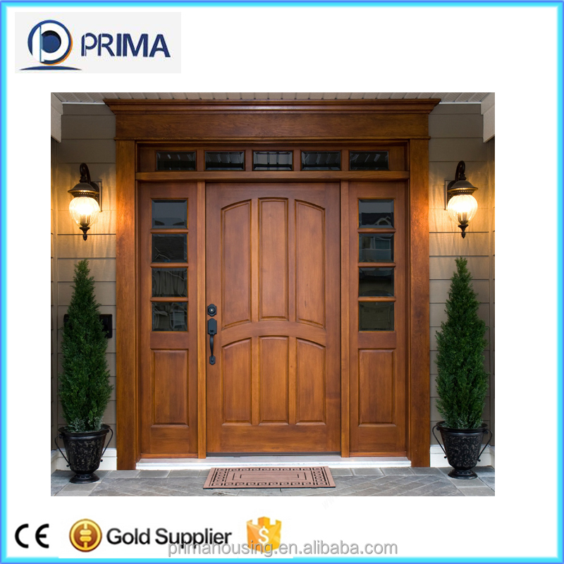 solid wooden door luxury deisgn for villa main entrance door design
