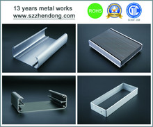 custom aluminium extrusion enclosure,custom aluminium extrusion box,custom aluminium extrusion housing