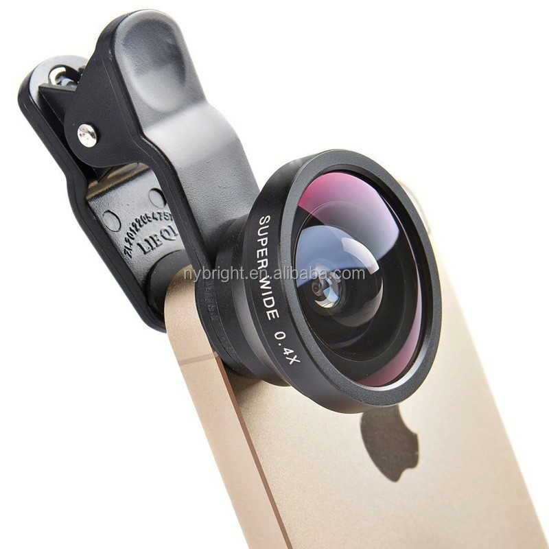 0.4x super wide angle mobile phone camera lens