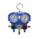 China manifold gauges a/c refrigerant filling charging hose set r134a two way valve manifold gauge set