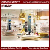 Elegant Modern Shoes Shop Display Rack Ideas