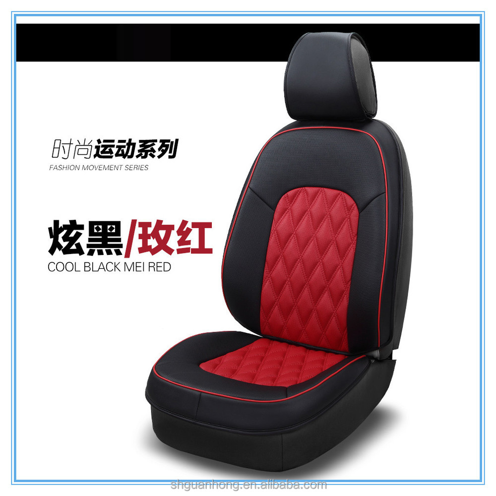 Special Promotional Car Seat Covers Special Back Design